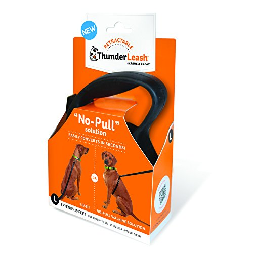 ThunderShirt Retractable ThunderLeash No-Pull Solution Large by ThunderLeash
