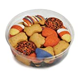 Barkworth Gourmet Halloween Dog Cookie Tub, 11-Ounce