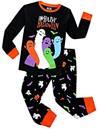 Pajamas for Boys Happy Halloween Ghost Sleepwear Children...