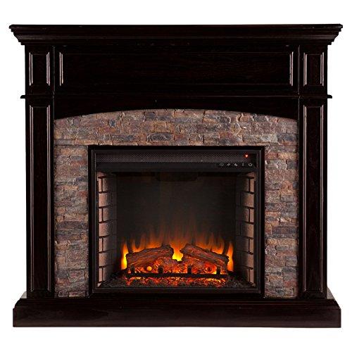 Southern Enterprises Grantham Corner Electric Fireplace