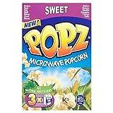 Popz Microwave Popcorn Sweet - 3 x 90g