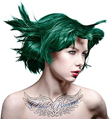 Manic Panic Semi Permanent Hair Dye Enchanted Forest Green by Tish &  Snooky\'s Manic Panic NYC