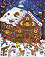 Gingerbread House Greeting Card Advent Calendar (Countdown to Christmas)
