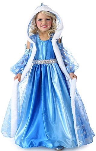 Princess Paradise Child Icelyn Winter Princess Costume, Multicolor, Large/10