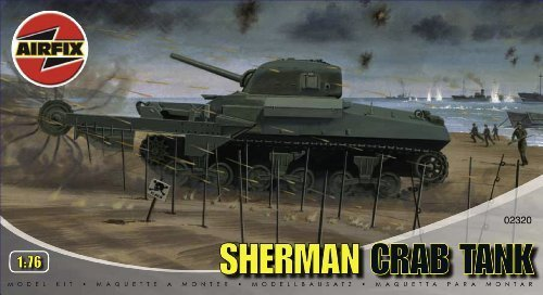 Airfix A02320 Sherman 'Crab' Tank Tank Tank 1 76 Scale Series 2 Plastic Model Kit by Airfix World War II Military Vehicles & Dioramas 56ad30