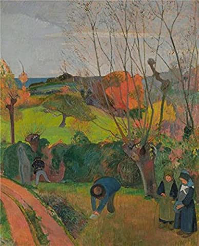 'Paul Gauguin,The Willow Tree (Le Saule),1889' Oil Painting, 10x12 Inch / 25x31 Cm ,printed On High Quality Polyster Canvas ,this Reproductions Art Decorative Prints On Canvas Is Perfectly Suitalbe For Kids Room Artwork And Home Decoration And (Les Paul Classic Custom Lite)