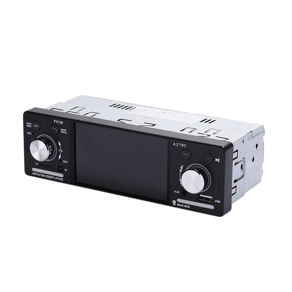 Sedeta 4.1 inch HD 1Din Digital Car Stereo Radio MP5 Audio Player Bluetooth FM Radio USB TF AUX
