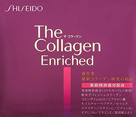 Shiseido The Collagen Enriched tablet V 4x60pcs