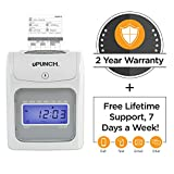 CALCULATING uPunch Time Clock Bundle with 200