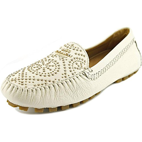 Coach Womens Pebble Leather Moccasin