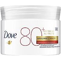 Máscara Concentrada Fator de Nutrição 80+ Dove 1 Minuto Regeneradora Pote 300g, Dove