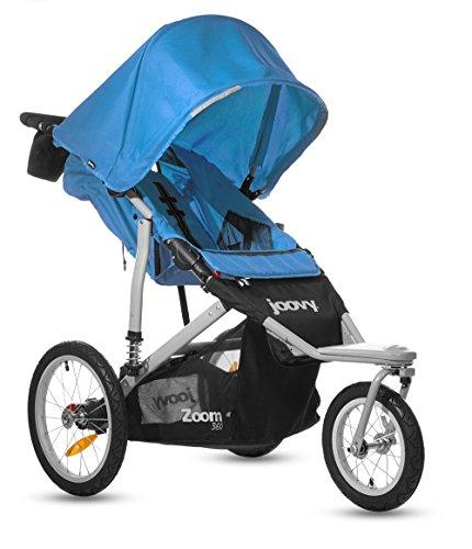 Amazon.com : Joovy Zoom 360 Swivel Wheel Jogging Stroller, Blue ...