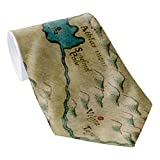 Zazzle Vintage Map Of West Africa (1561) Neck Tie