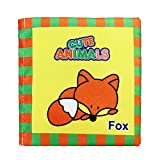 Doinshop Soft Cloth Cognize Book Baby Intelligence Development Education Toys Learning Picture (Animals)