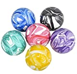 Kicko 2 Inch Marble Balls - 12 Pieces of Assorted 2