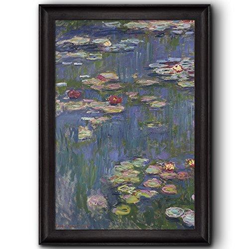 Water Lilies by Claude Monet Framed Art
