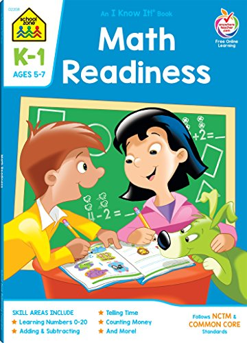 Workbooks-Math Readiness Grades K-1