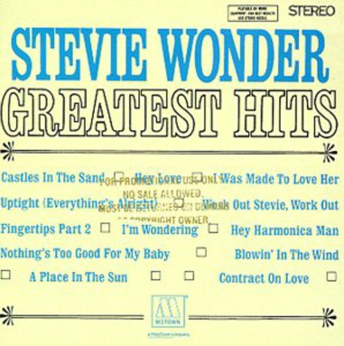 Stevie Wonder - Greatest Hits (Best Of Stevie Wonder Cd)
