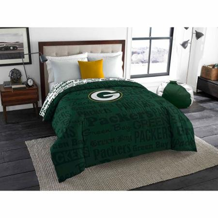 NFL Anthem Twin/Full Bedding Comforter Only, Green Bay Packers Green Bay Packers Bedding