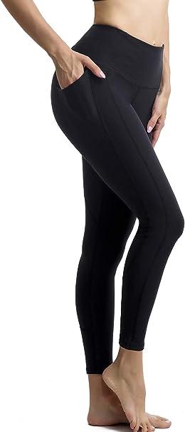 Amazon.com: Persit - Mallas de yoga para mujer con bolsillos ...