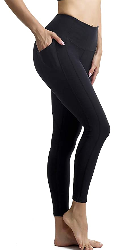 e9933675b4ba53 Persit Yoga Pants for Women High Waisted Leggings Tummy Control Athletic Running  Workout Yoga Leggings with