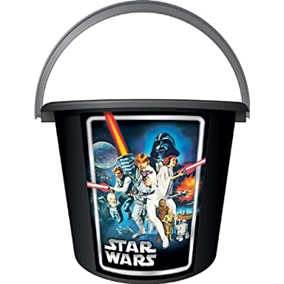 Star Wars Sand or Trick-or-Treat Pail: Toys & Games