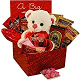 A Big Kiss For You! Care Package Gift Box - Valentine's Day