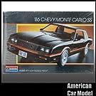 86 Chevy MonteCarlo SS 1986 シボレー モンテカルロ Monogram 2731 1:24スケール Chevrolet シェビー プラモデル [並行輸入品]