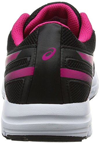 5 Scarpe black Pink Gel Asics Running Bambini Peacock Gs zaraca Unisex White Nero ZwgqxEI