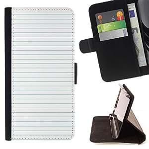 For Sony Xperia Z3 Plus / Z3+ / Sony E6553 (Not Z3) Case , Del papel de escuela Líneas Maestro- la tarjeta de Crédito Slots PU Funda de cuero Monedero caso cubierta de piel