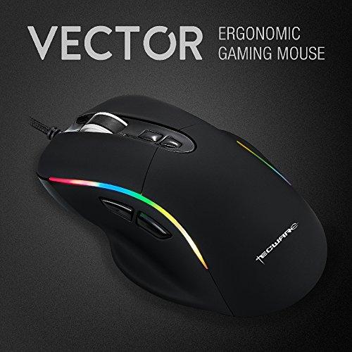 TECWARE Vector RGB Gaming Mouse with PixArt 3325 Sensor