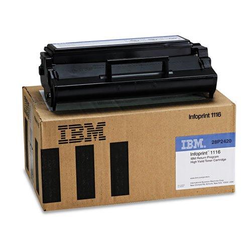 (InfoPrint Solutions Company - 28P2420 High-Yield Toner, 6000 Page-Yield, Black 28P2420 (DMi EA)