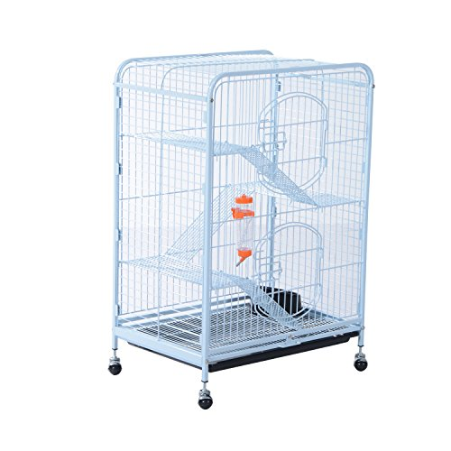Pawhut 37' 4 Level Indoor Animal Cage review