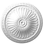 Designer's Edge Millwork DEM-513 15 in. Gothic Floral Ceiling Medallion