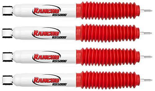 Rancho Suspension RS5000 Shock Kit for Stock Height Ford F-150 4WD 1997-03 - Includes Front & Rear Rancho RS5000 Shock (Rancho Rs5000 Front Shock)