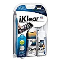 iKlear Complete Cleaning Kit with soution and cloth for your iPad, iPhone, Macbook, iMac & TV Screens