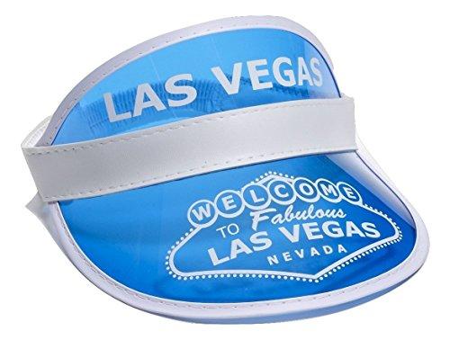 Las Vegas Accessories - Forum Novelties Las Vegas Visor, Blue