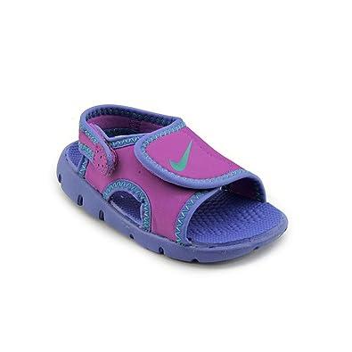 Nike Sunray Adjust 4 Toddler Girls Purple Open Toe Size 3.5 UK UK 3.5   Amazon.co.uk  Shoes   Bags 6d0d22889