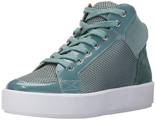 Nine West Women's Verona Fabric Fashion Sneaker, Blue/Multi, 39 B(M) EU/7 B(M) UK