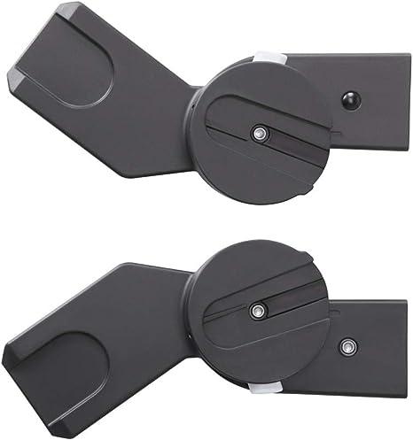 para CYBEX Cochecitos y Sillas de paseo de la l/ínea M Cybex Gold color negro Adaptador para capazo M