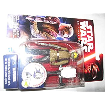 Star Wars Action Figure GIFT SET BUNDLE !! (First Order Tie Fighter Pilot, Luke Skywalker, Poe Dameron, Resistance Trooper)
