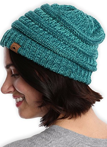 Tough Headwear Cable Knit Beanie - Thick, Soft & Warm
