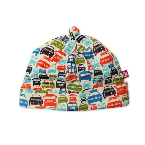 (Zutanoinfant Baby-Boys Piccadilly Cars Hat, Cream, 6)