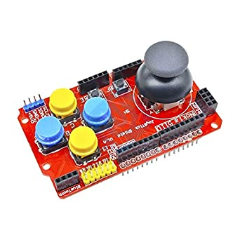 Computer & Office 3d Printers & 3d Scanners Gamepads Joystick Keypad Shield Nrf24l01 Nk 5110 Lcd I2c Durable Service