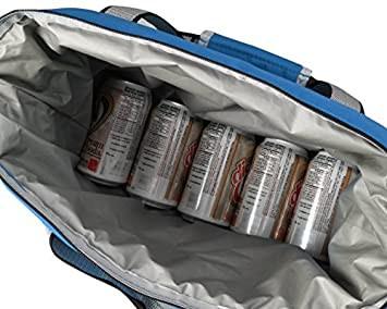 Bayfield Bags Heavy-Duty Soft Sided Collapsible Cooler Bag Holds 16 Cans -Lightweight Thermal Cooler with Thick Lining Insulation