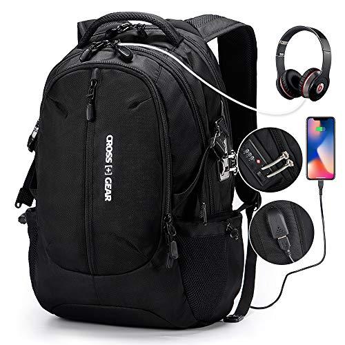 CrossGear TSA Laptop Sleeve for 13-13.3 Inch MacBook Air 360/° Protective Chromebook Notebook Tablet Case Bags Gray CR-2114