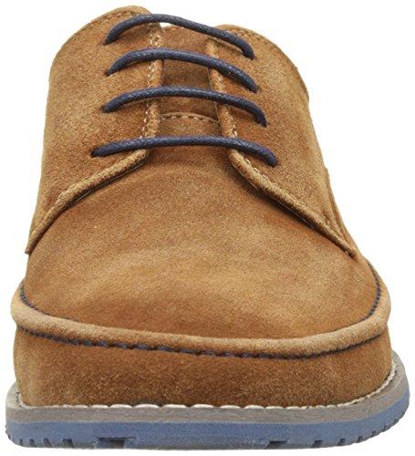 Kickers Tumper, Zapatos de Cordones Derby para Hombre marrón (camel)