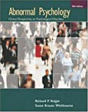 Abnormal Psychology, Richard P. Halgin and Susan Krauss Whitbourne, 0073228729