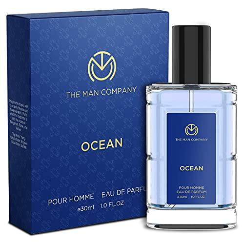 The Man Company Ocean EDP for Men – 30 ml | No Gas Perfume | Long Lasting Fragrance | Perfume for Men