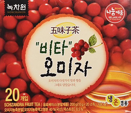 - [Nokchawon] 100% Organic Oriental TEA selections from Korea Schizandra fruit tea 20T